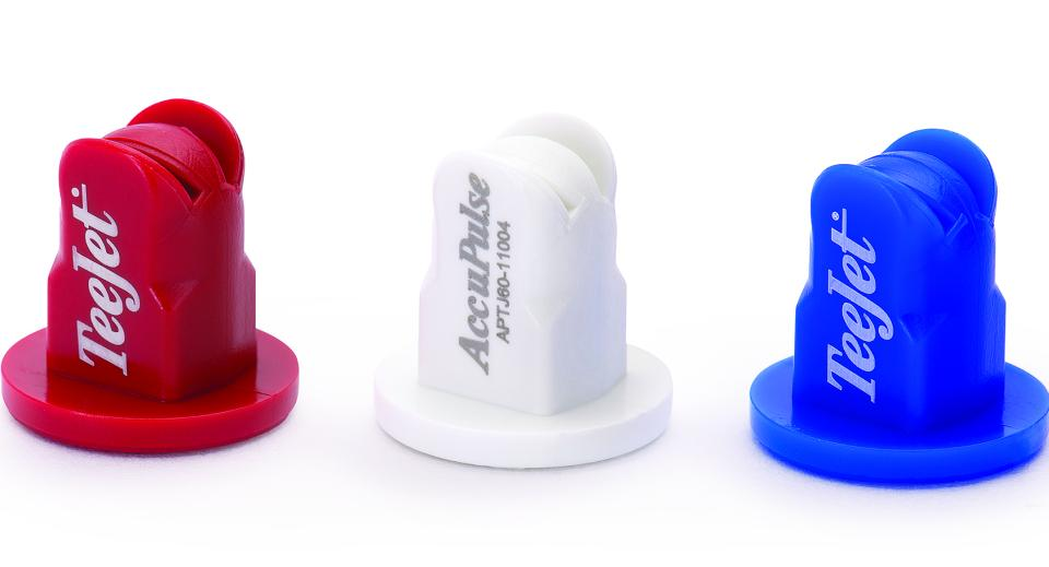 AccuPulse TwinJet Spray Tips